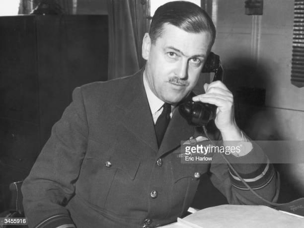 British Air Vice Marshal Sir Trafford LeighMallory circa 1941