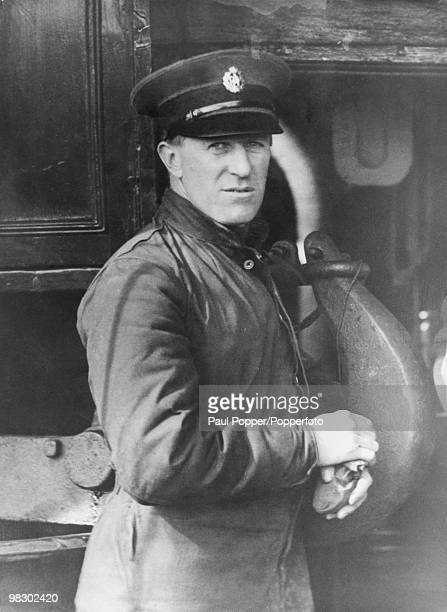 British aircraftman T E Lawrence aka 'Lawrence of Arabia' during his brief stint in the RAF circa 1922