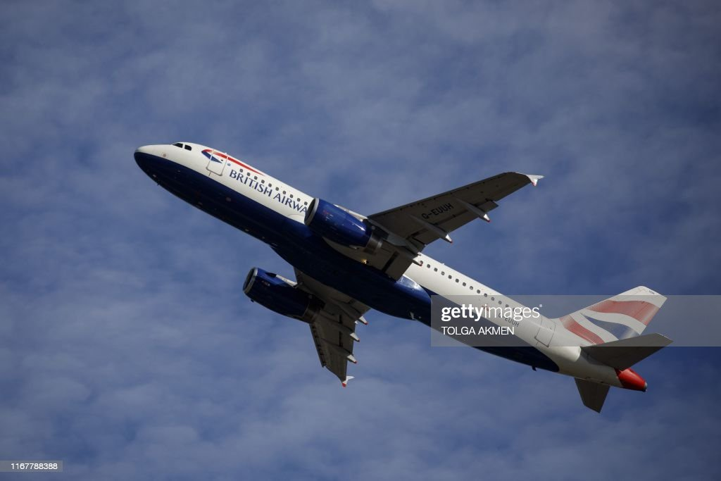 BRITAIN-TRANSPORT-AVIATION-BA : News Photo