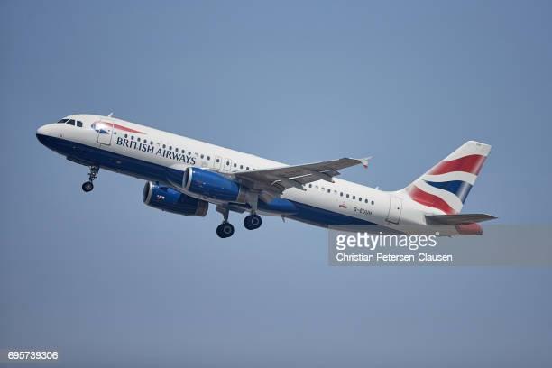 British Airways Airbus 320 Editorial Only