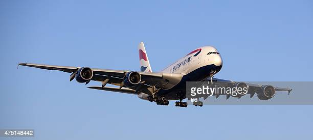 British Airways Airbus a380-841 Commercial Jet Airplane
