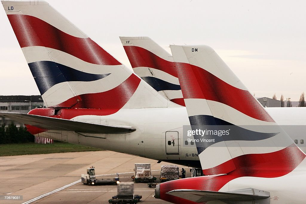 British Airways aircrafts wait at their gates at Heathrow airport on November 30, 2006 in London. Varius aircrafts are being investigated for possible radiation contamination following the death of former spy Alexander Litvinenko at Heathrow airport.
