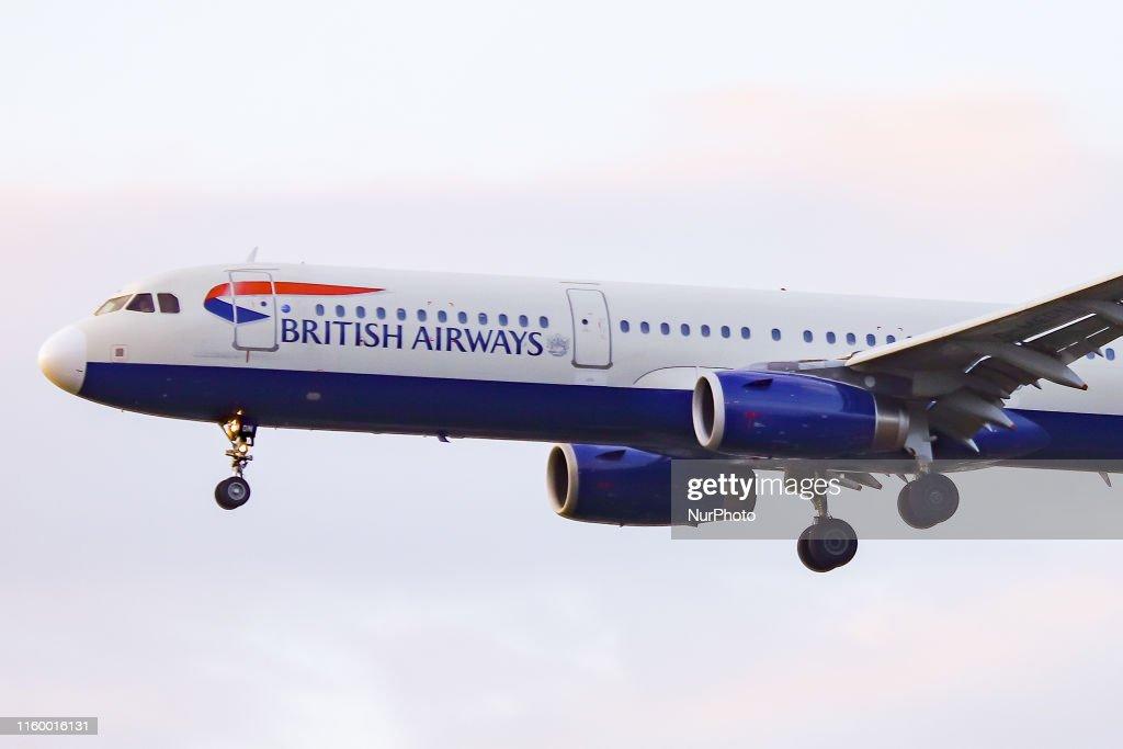 British Airways Airbus A321 : Foto jornalística