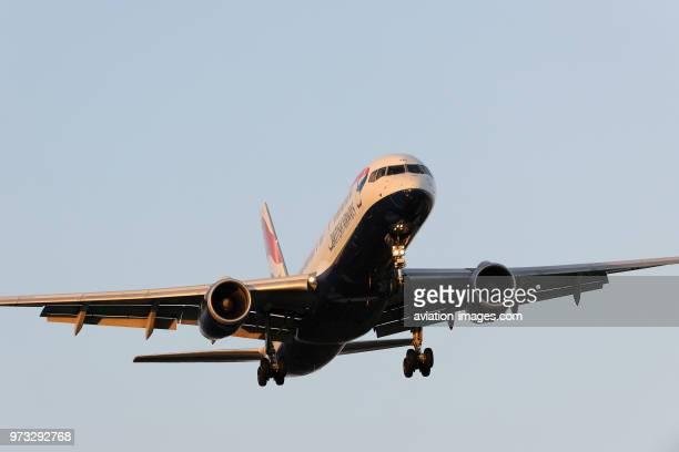 British Airways Boeing 757200 on finalapproach to Heathrow