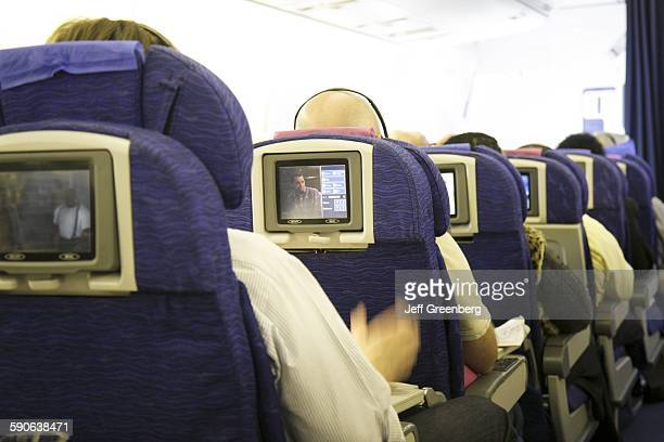British Airways Commercial Airliner Onboard Seat Monitors