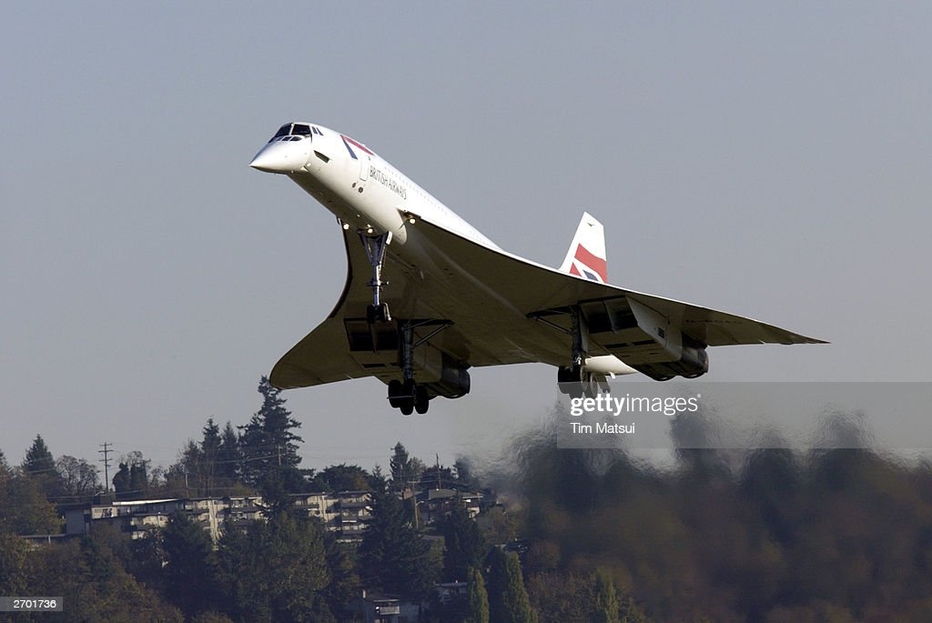 Concorde Lands in Seattle : News Photo