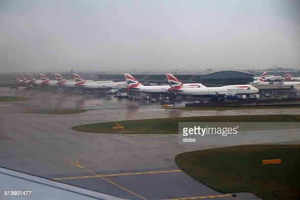 A British Airways frota em Heathrow