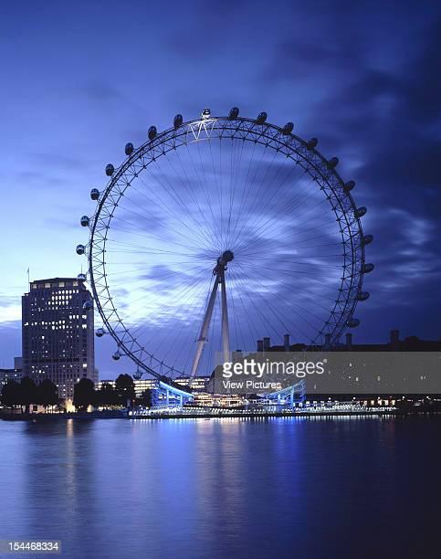 British Airways London Eye London United Kingdom Architect Marks Barfield British Airways London Eye Portrait View Of London Eye