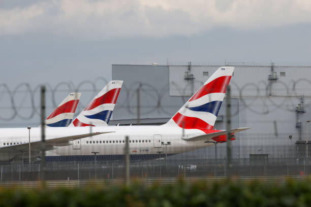 GBR: British Airways Planes Ahead Of IAG Results