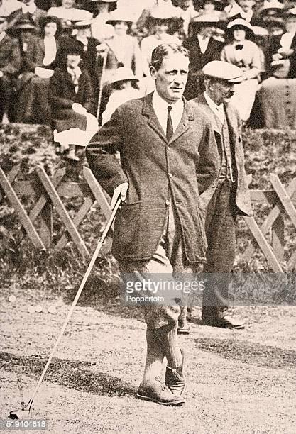 British amateur golfer Harold Hilton circa December 1913