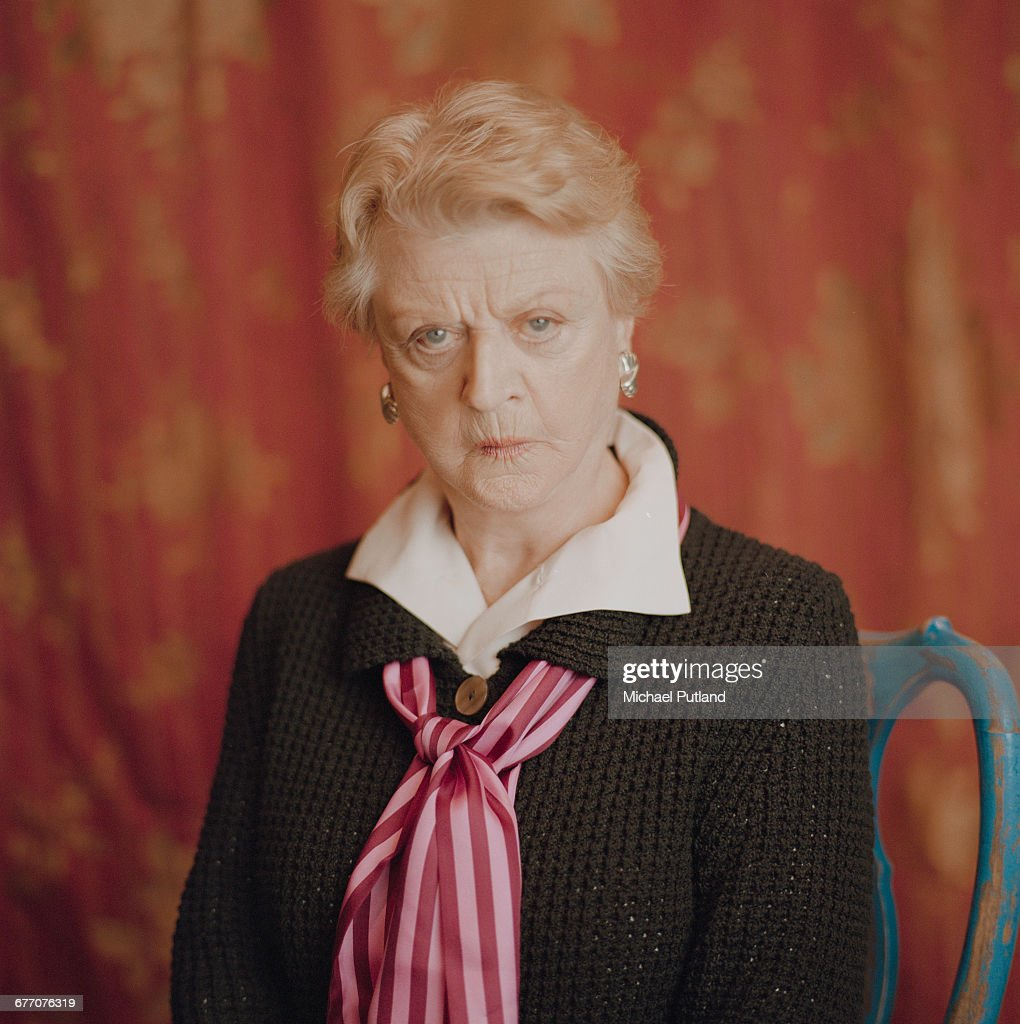 British American actress and singer Angela Lansbury at Pinewood Studios, Buckinghamshire, 2003.