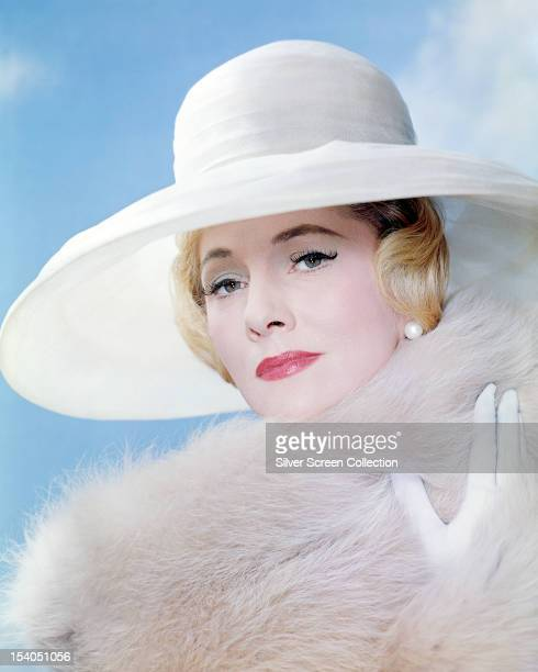 British American actress Joan Fontaine circa 1955