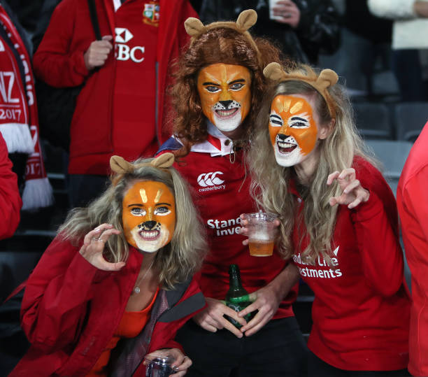 British And Irish Lions Fans Before The Third Test Of 2017