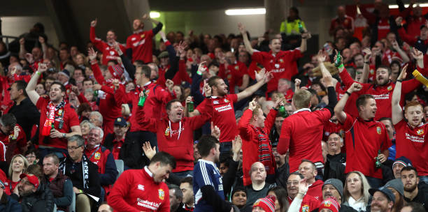 British And Irish Lions Fans During The Third Test Of 2017