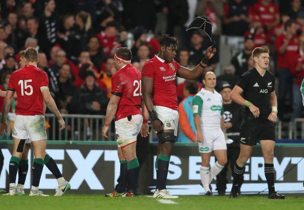 British And Irish Lions Maro Itoje At The Final Whistle Of Third Test