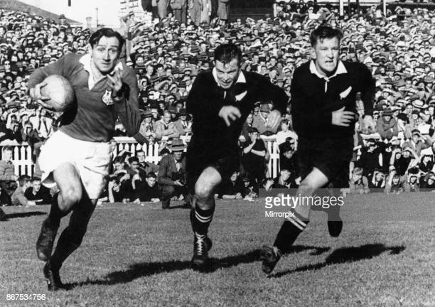 British and Irish Lions Tour Fourth Test match at Auckland 29 July 1950