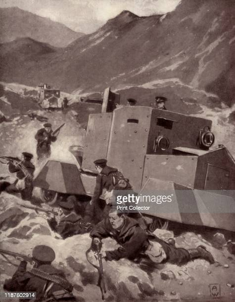 British Armoured Cars in the Caucasus' 1917 The main objective of the Ottoman Empire was the recovery of territory in the Caucasus the British worked...