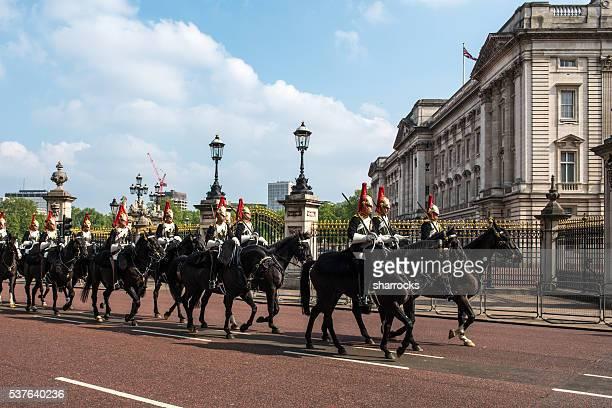 British Army Cavalry at Buckingham Palace