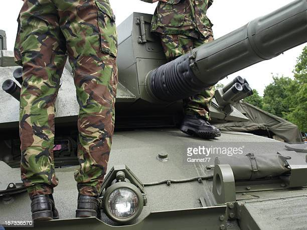 british army challenger tank - british military stock photos and pictures