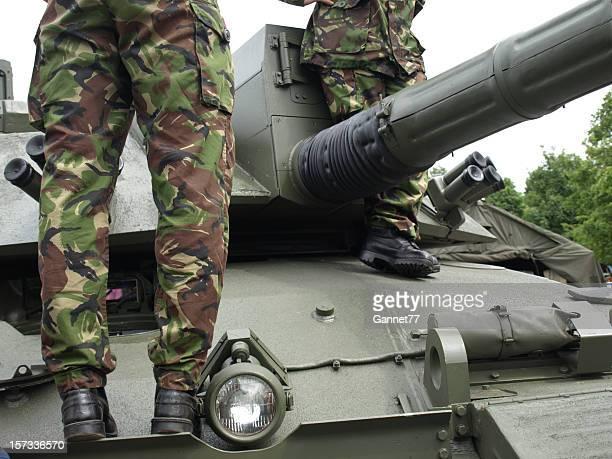 exército britânico challenger tanque - exército britânico - fotografias e filmes do acervo