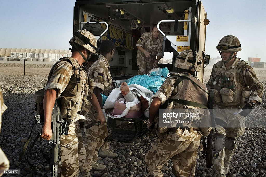 AFG: Theatre Of War : News Photo