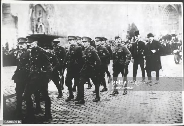 British army of occupation leaving Koln 30126 Koln