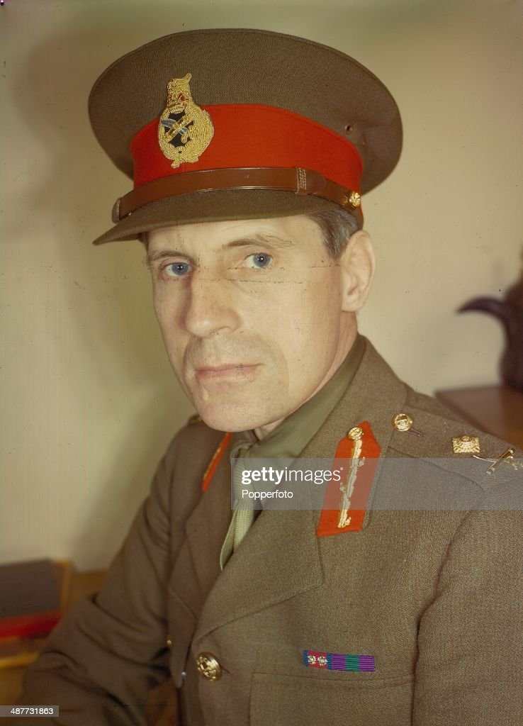 1943 British Army Officer Major General Orde Charles Wingate In