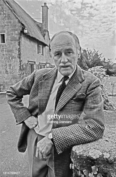 British Army officer Sir Walter Walker , UK, 9th September 1974. He has just joined the anti-Communist group Civil Assistance, a far-right movement...