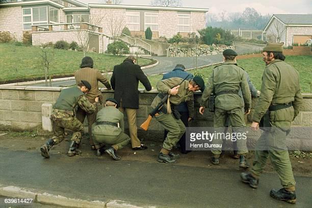 British Army patrol in Belfast