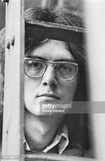 British art historian and broadcaster Richard Cork, the art critic for the Evening Standard, London, UK, 2nd July 1973.