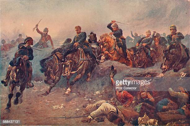 British Artillery Entering the Enemy's Lines at TelelKebir Egypt 13 September 1882' 1883 A British victory during the AngloEgyptian War From...