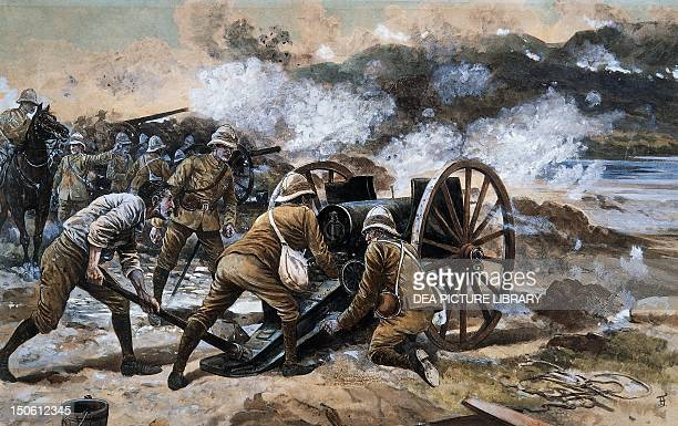 British Artillery in Kimberley Second AngloBoer South African 20th century