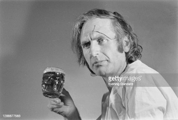 British artist Bruce Lacey , UK, October 1971.
