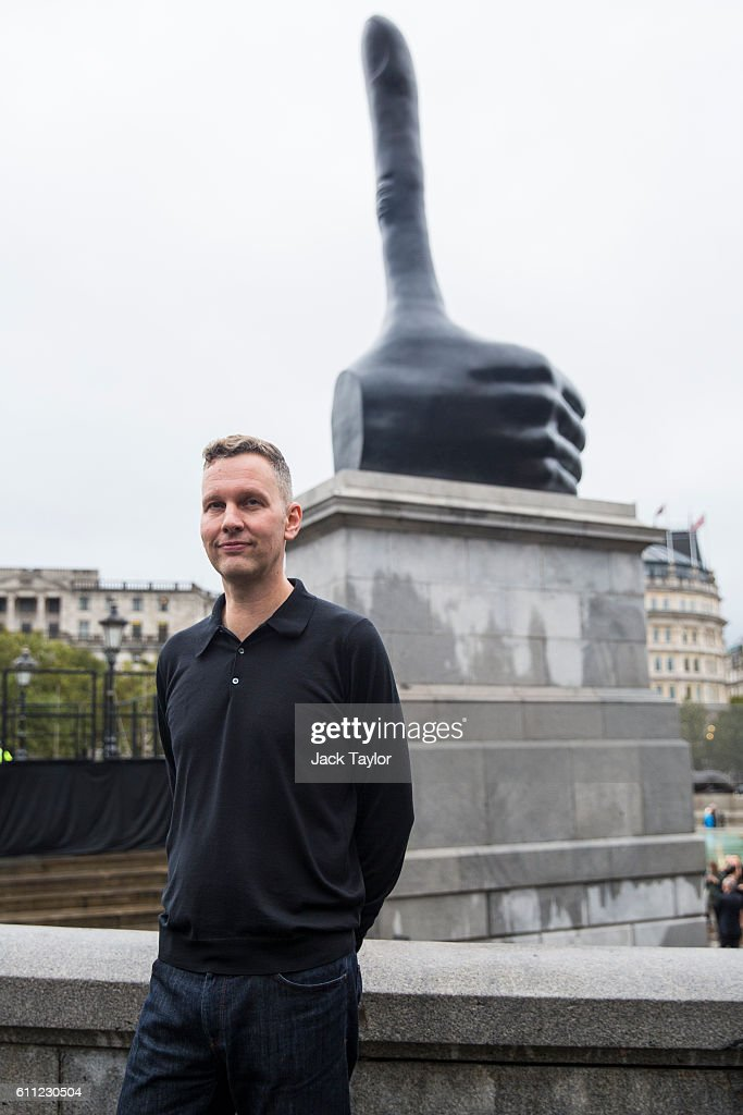 David Shrigley's Really Good Sculpture Is Revealed On The Fourth Plinth