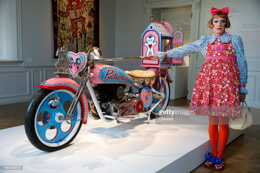 """Vanity, Identity, Sexuality"" : Grayson Perry's Exhibition At Monnaie De Paris : News Photo"