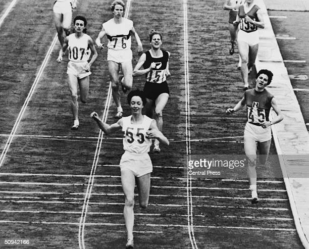 British athlete Ann Packer wins the Olympic 800 metres at the Tokyo Olympics 21st October 1964