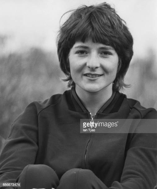 British athlete Sheila Carey near her home in Coventry UK July 1970 She is replacing Lillian Board at the Commonwealth Games in Edinburgh