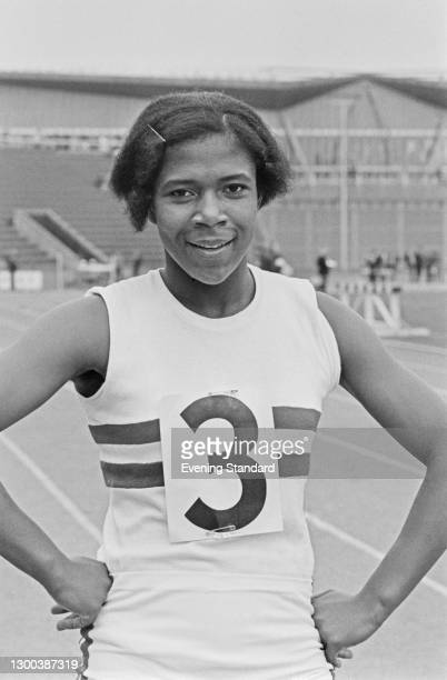 British athlete Sonia Lannaman at a sporting event in the UK, 15th June 1972.
