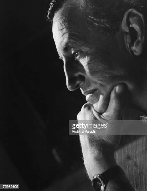 British author and creator of James Bond Ian Fleming circa 1960