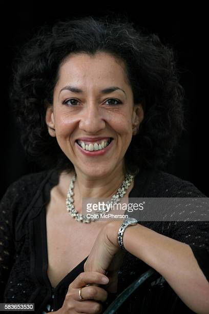 British author Andrea Levy is pictured at the Edinburgh International Book Festival prior to talking about her novel Small Island winner of the 2005...