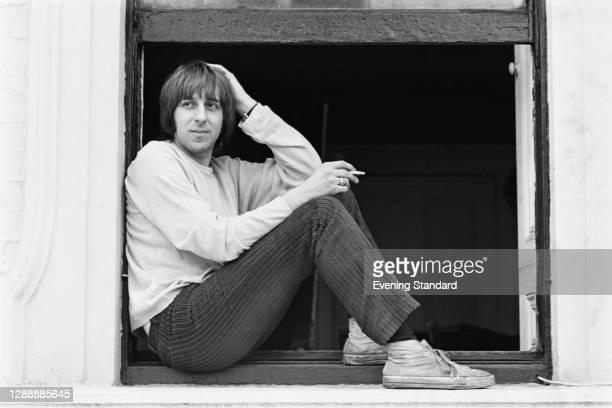 British author, cartoonist and jazz musician Barry Fantoni, UK, 16th March 1968.