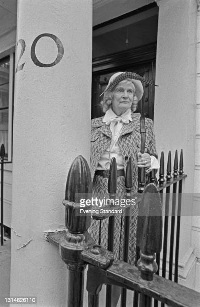 British author Daphne Fielding , UK, 27th April 1974.