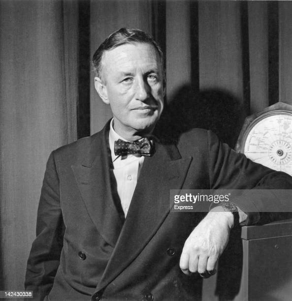 British author Ian Fleming creator of the James Bond series of spy novels 24th March 1958