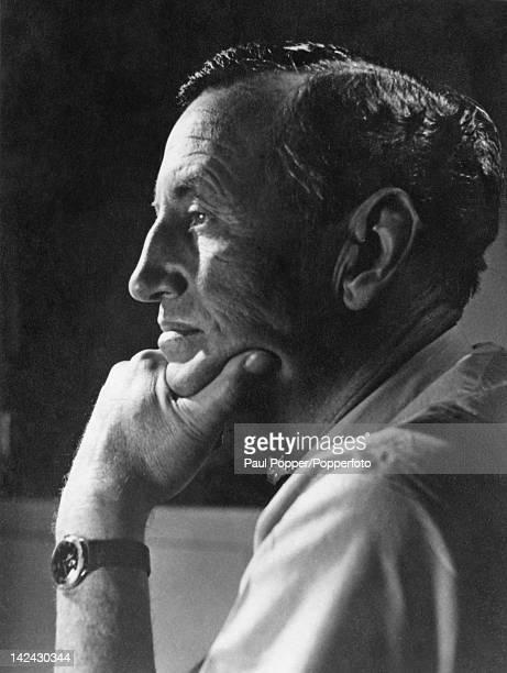 British author Ian Fleming creator of the James Bond series of spy novels 1960