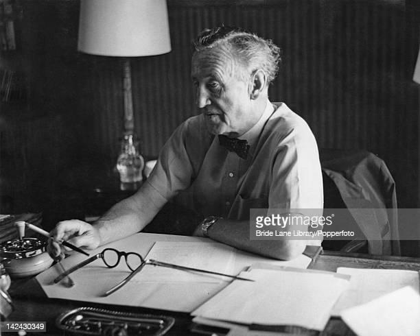 British author Ian Fleming creator of the James Bond series of spy novels circa 1964