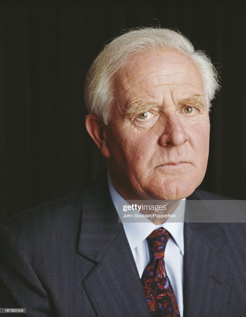 British author John Le Carre, circa 1990.