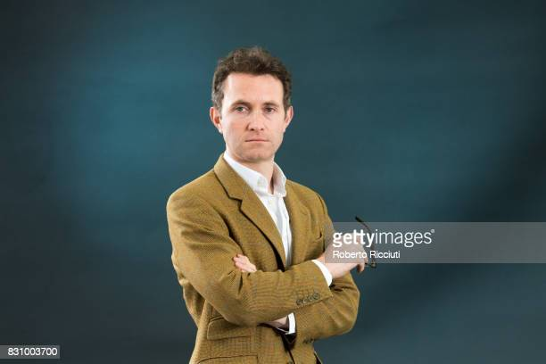 British author journalist and political commentator Douglas Murray attends a photocall during the annual Edinburgh International Book Festival at...