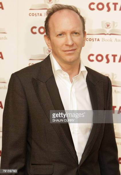 British author Simon Sebag Montefiore poses for a shortlisted authors photocall 22 January 2008 for the 2007 Costa Book Award Winners The awards...