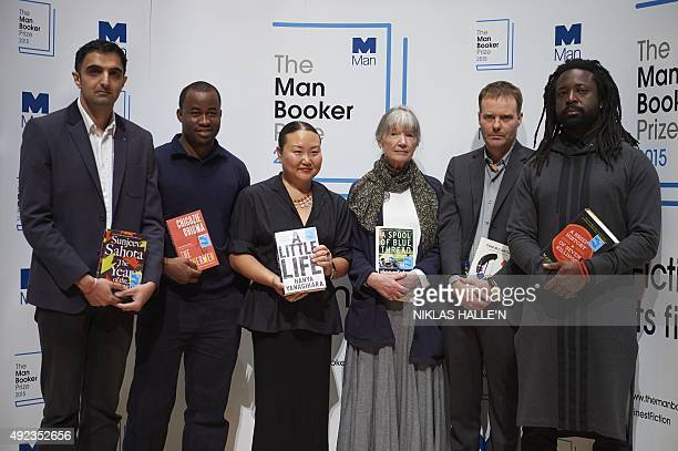 British author Sunjeev Sahota Nigerian author Chigozie Obioma US author Hanya Yanagihara US author Anne Tyle British author Tom McCarthy and Jamaican...