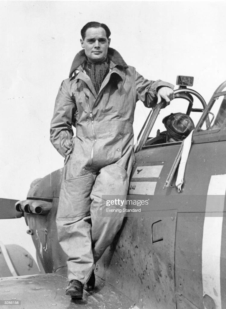 RAF Pilot : News Photo
